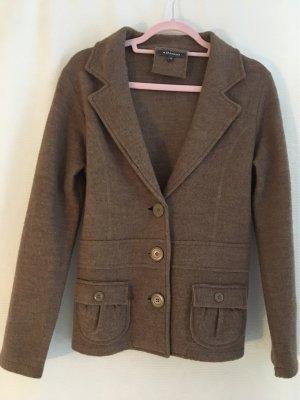 Adagio Blazer in lana marrone-grigio Lana