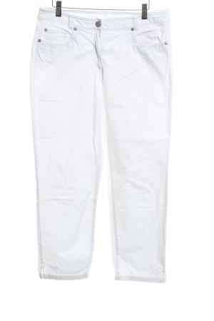 Adagio Pantalón de cinco bolsillos blanco Estilo años 90