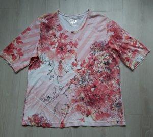 Adagio T-shirt multicolore coton