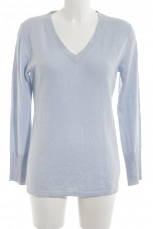 Adagio Strickshirt blau Casual-Look