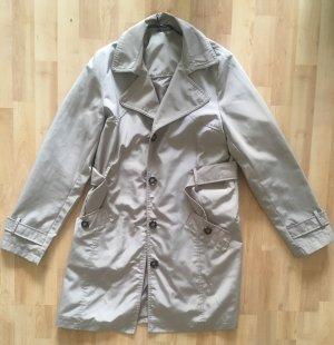 Adagio Trench Trenchcoat Mantel Jacke beige 40 (NEU)