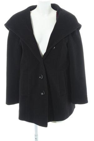 Adagio Abrigo de lana negro estilo clásico