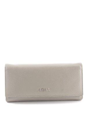 Adax Geldbörse hellgrau klassischer Stil