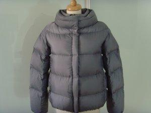 ADD NEU ★ silber-grau Daunen-Jacke ★ 16 36 S 100 % Daunen oversize