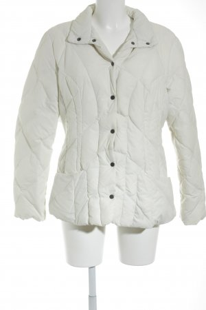 Add Chaqueta acolchada blanco puro look casual