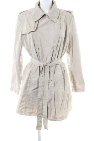 Add Trenchcoat blanc cassé style d'affaires