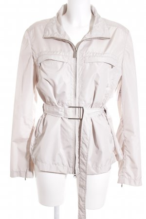 Add Chaqueta de entretiempo crema look casual