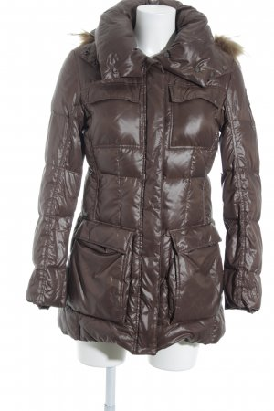 Add Winterjacke graubraun Casual-Look