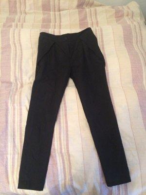 adddress Pantalone di velluto a coste nero
