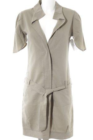 adddress Hemdblusenkleid graubraun minimalistischer Stil
