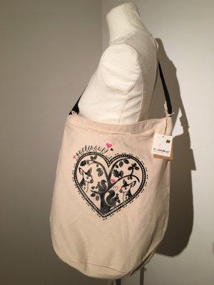 Adelheid Handtasche Beutel Tasche NEU beige