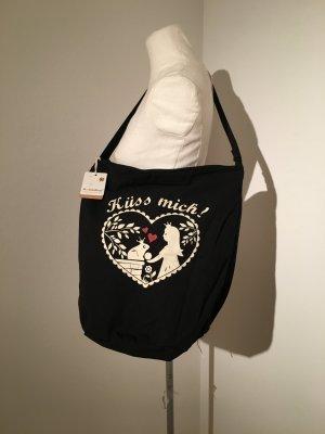 Adelheid Küss mich Handtasche schwarz Tasche NEU