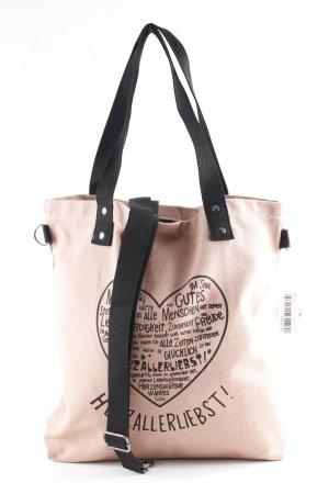 Adelheid Shoulder Bag pink placed print casual look