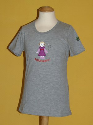 Adelheid T-shirt gris clair