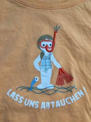 ADELHEID T-Shirt Lass uns abtauchen, Orange, Gr. XXL, NEU und ungetragen
