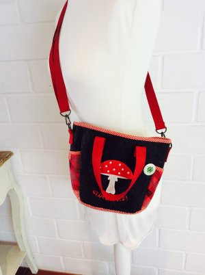Adelheid Tasche Umhängetasche Wiesn Oktoberfest Glückspilz