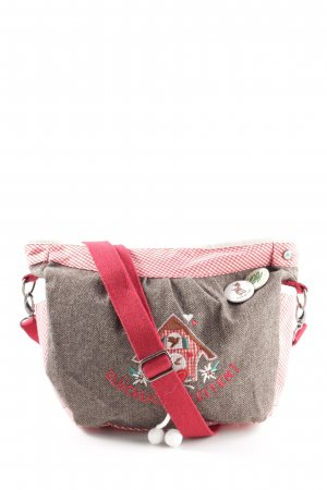 Adelheid Traditional Bag check pattern street-fashion look