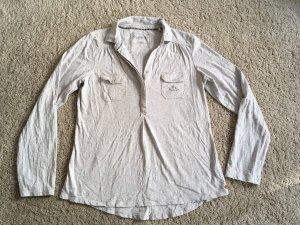 Adenauer & Co Long Sleeve Blouse light grey