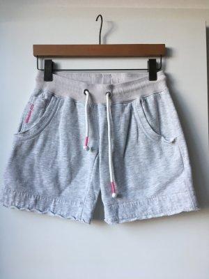 Adenauer & Co Pantalón corto deportivo gris claro-rosa