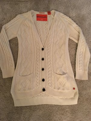 Adenauer & Co Coarse Knitted Jacket natural white