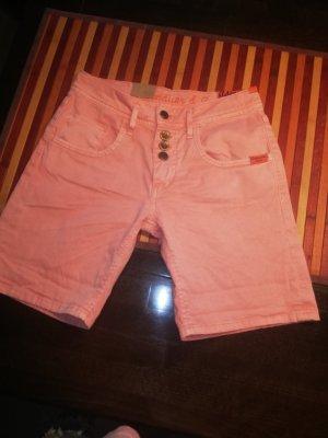 Adenauer & Co Hot pants albicocca