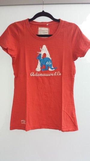 Adenauer T-Shirt mit Applikationen