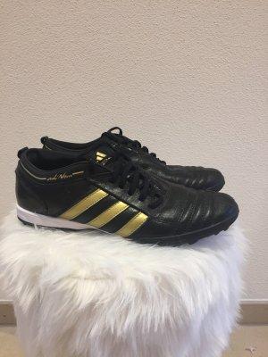 Adidas Zapatilla brogue negro-color oro