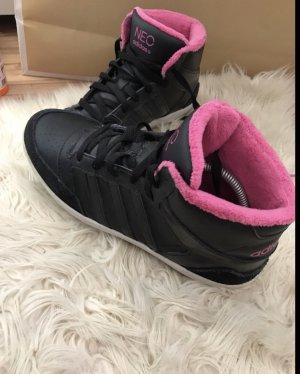 Adidas NEO Sneakers met veters zwart-roze