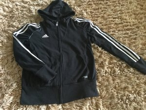 Adidas Hooded Sweatshirt black-white