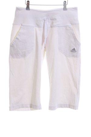 Adidas 3/4-Hose weiß Casual-Look