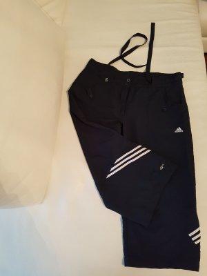 Adidas 3/4 Sporthose in dunkel blau