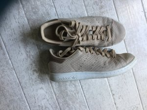 adidas stan smith Basket chameau-beige cuir