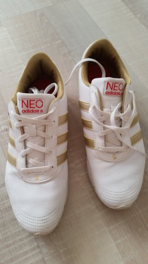 Adidas NEO Lace Shoes white-lime yellow