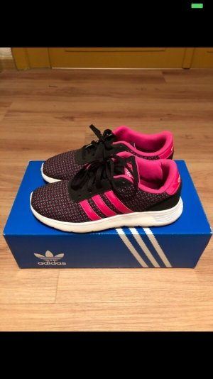 Adidas Lace-Up Sneaker pink-black
