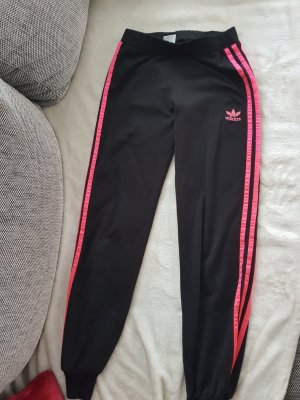 Adidas Tregging noir-rose fluo
