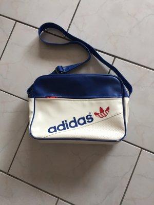 Adidas Originals Sac bandoulière blanc-bleu