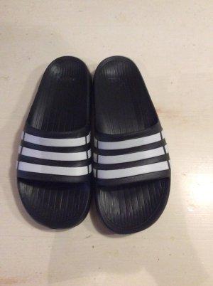 Adidas Mules white-black