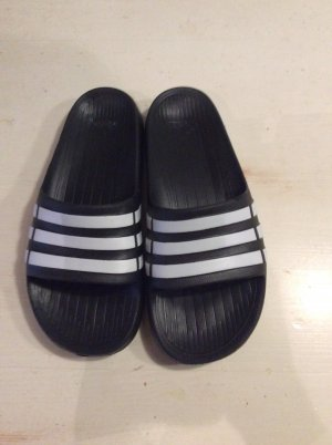Adidas Mules white-black