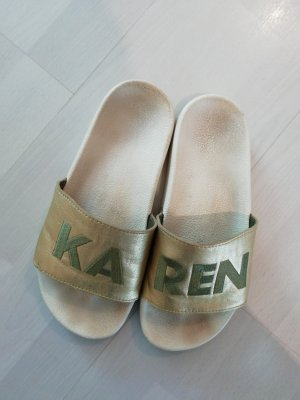 Adidas Adiletten Sandale Customized Name Karen