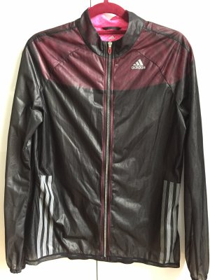 Adidas Cortaviento negro-rosa