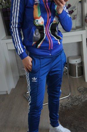 Adidas Traje para mujer azul