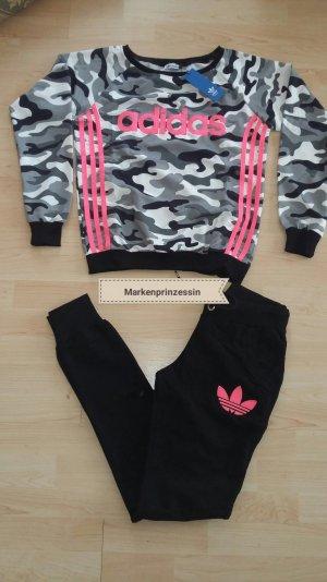 Adidas Anzug sportanzug jogginganzug Trainingsanzug camouflage M neu
