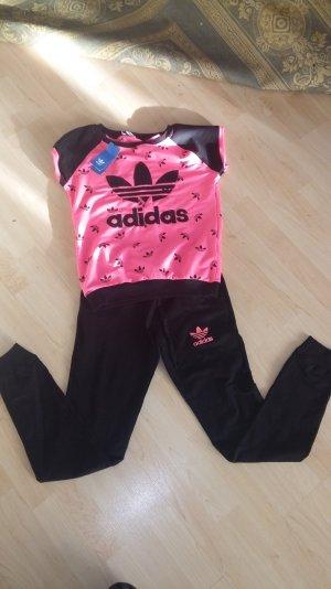Adidas Anzug sportanzug jogginganzug Trainingsanzug Gr S