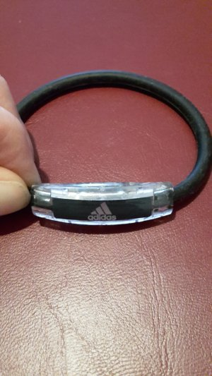 Adidas NEO Bracelet black-white synthetic material