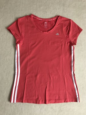 Adidas Sporttop wit-rood