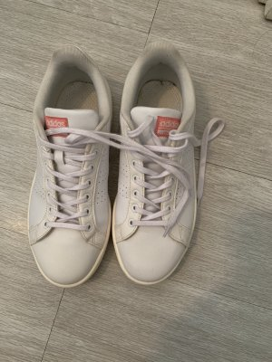 Adidas Sneaker stringata bianco-rosa