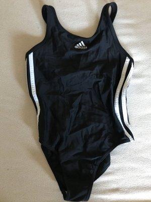 Adidas Traje de baño negro-blanco