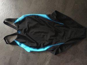 Adidas Traje de baño negro-azul claro