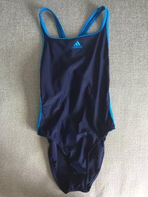 Adidas Traje de baño azul-azul oscuro