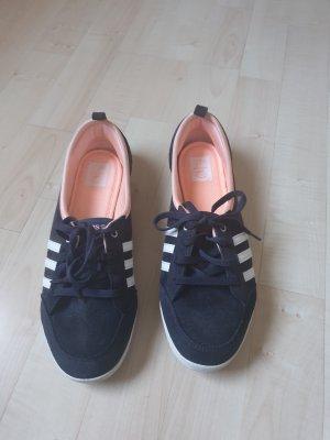 Adidas NEO Ballerina zalm-donkerblauw